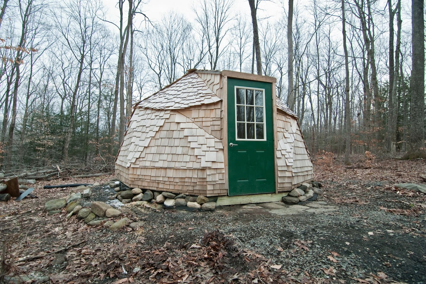 A Geodesic Dome Bed and Breakfast in Connecticut