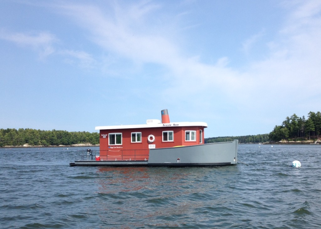 The Tessie-Anne Tugboat Bed and Breakfast in Maine
