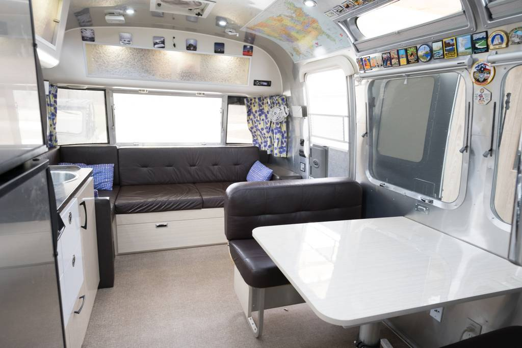Airstream Bed and Breakfast in Indiana