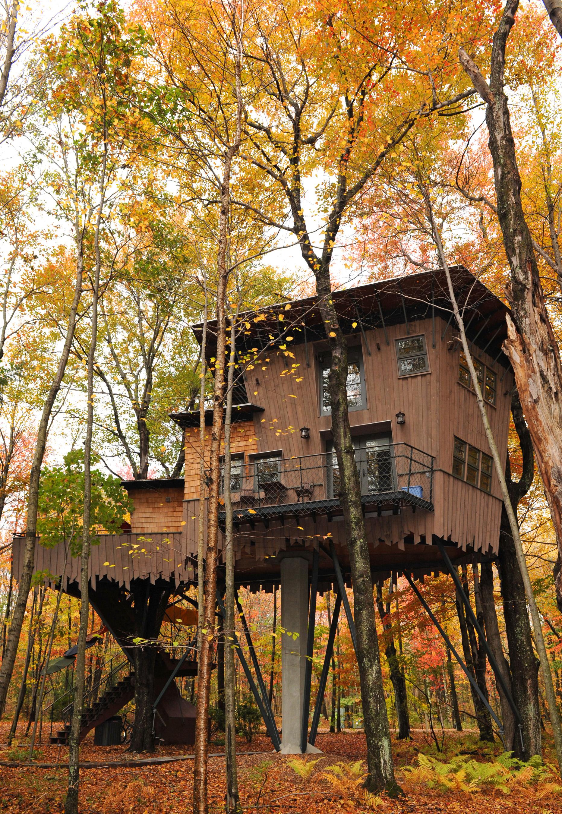 Winvian Farm's Treehouse in Connecticut