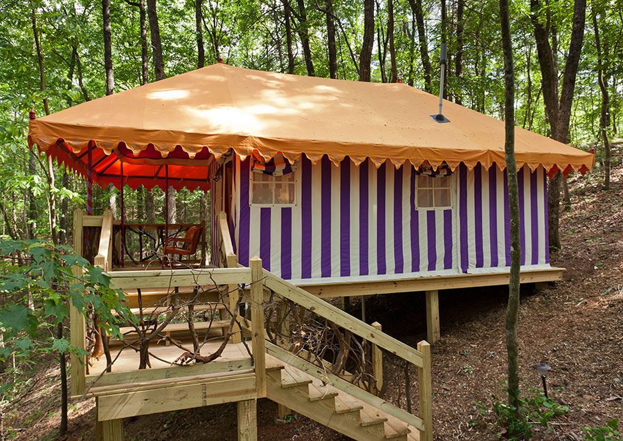 Glamping in Georgia at the Martyn House