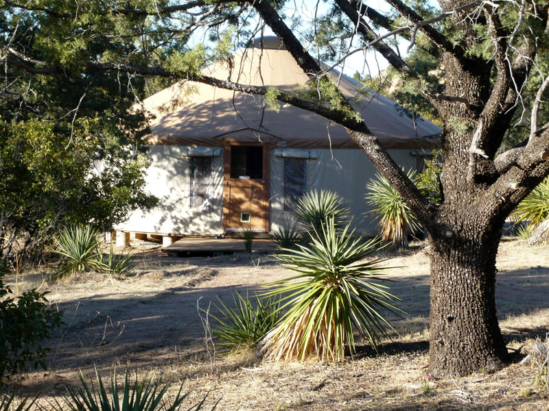 Glamping in Arizona at Cochise Stronghold Retreat