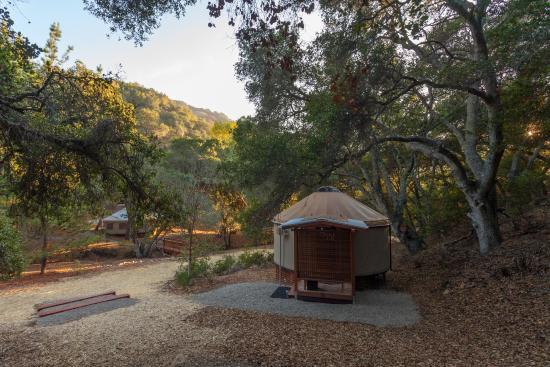 glamping in California at Wellspring Ranch
