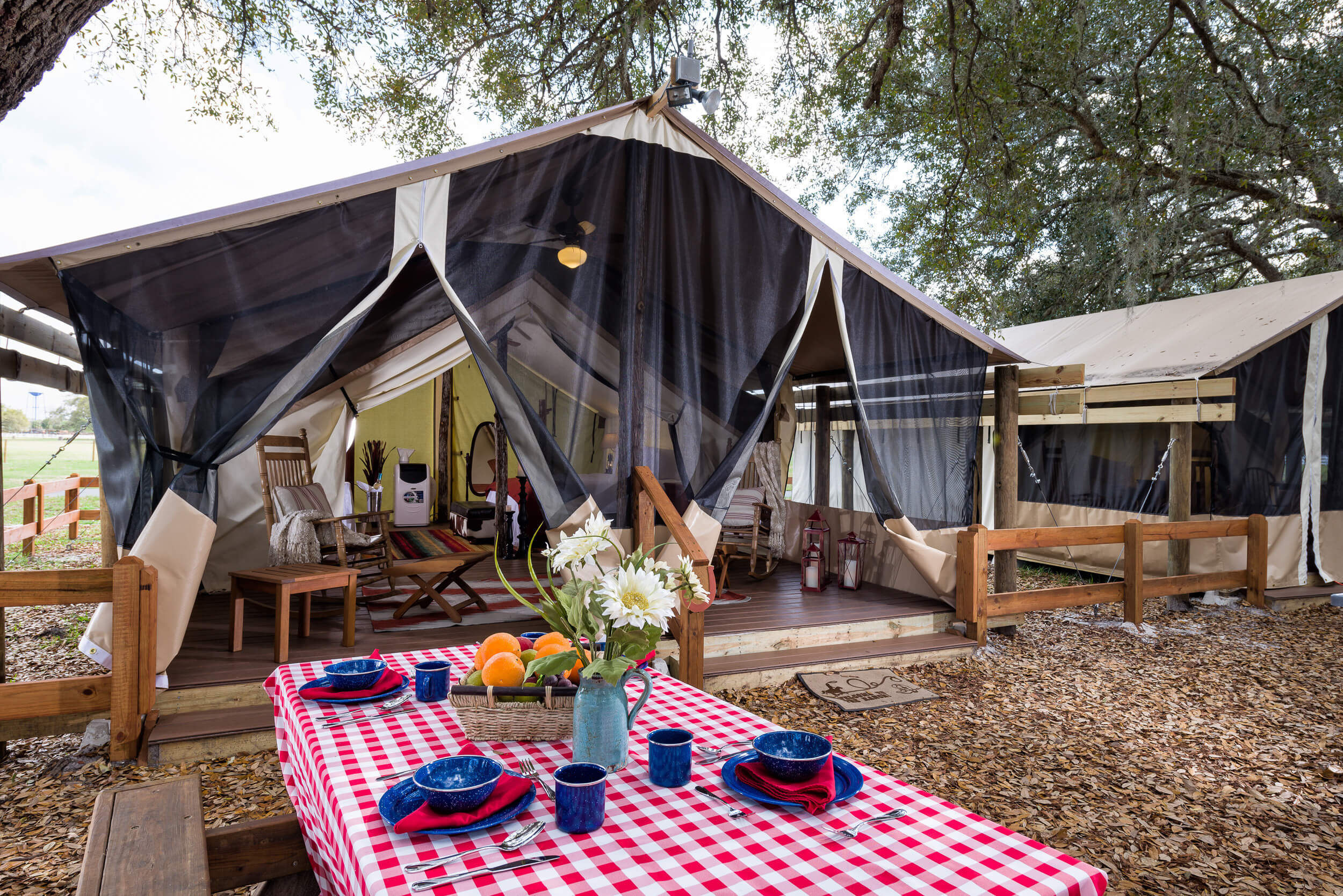 Glamping in Florida at Westgate River Ranch