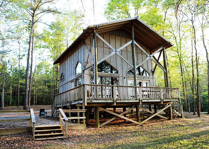 glamping in Mississippi at Little Black Creek Campground and Park